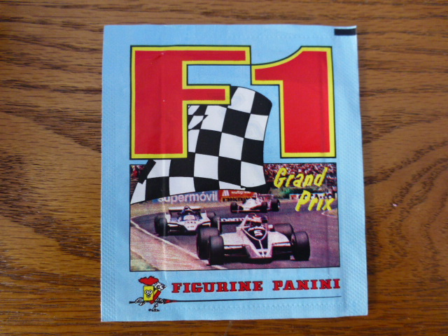 Panini F1 Unopened Sticker Pack