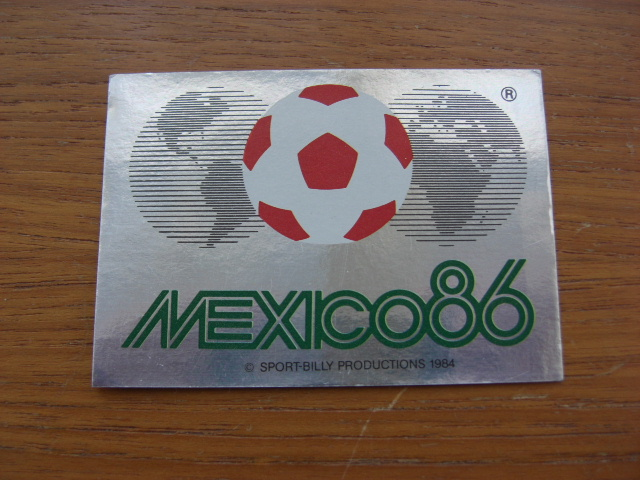 Mexico 86 No.1 Sticker