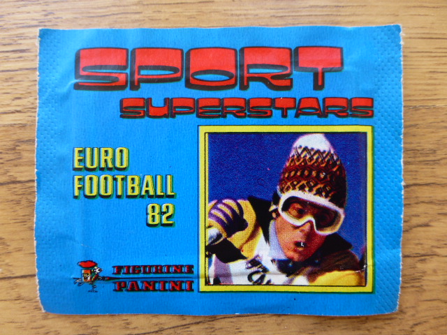 Panini Sport Superstars Euro Football 82 Sticker Pack